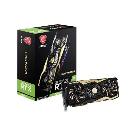 Placa De Vídeo MSI RTX 2080 Ti Lightning Z 11GB