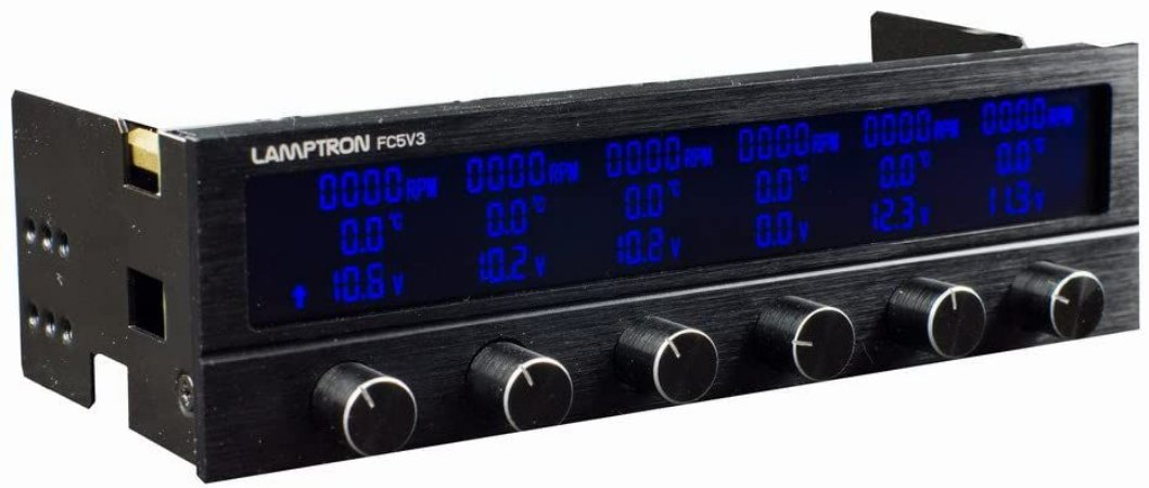 Controlador De Fan Lamptron FC5V3 (30W Por Canal)