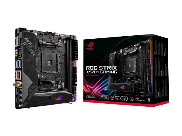 Placa Mãe Asus ROG Strix X570-I Gaming