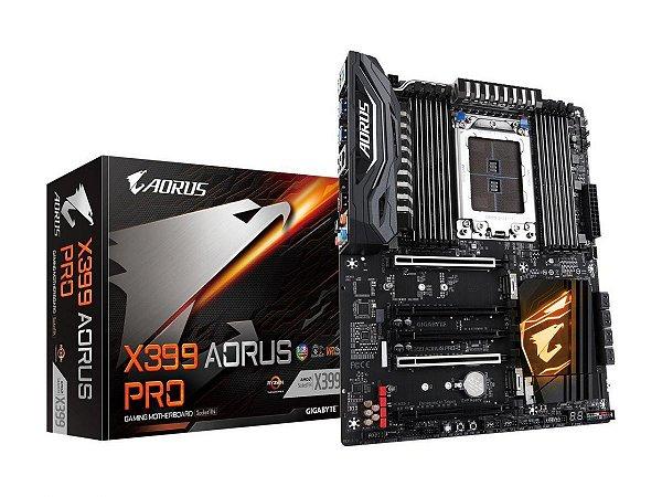 Placa Mãe Gigabyte X399 Aorus Pro (AMD)