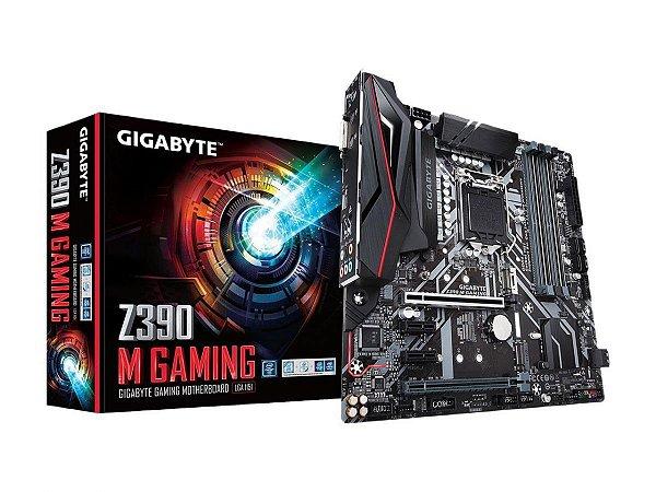 Placa Mãe Gigabyte Z390 M Gaming