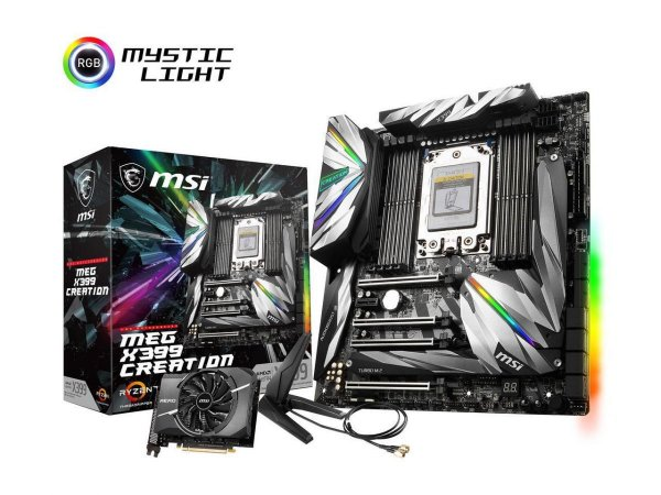 Placa Mãe MSI MEG X399 Creation (AMD)