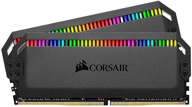 Memória RAM Corsair Dominator Platinum RGB DDR4 2x16GB 3200Mhz