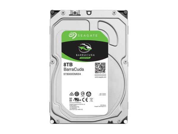 HD Seagate BarraCuda 8TB Sata 6.0GBp/s 256MB