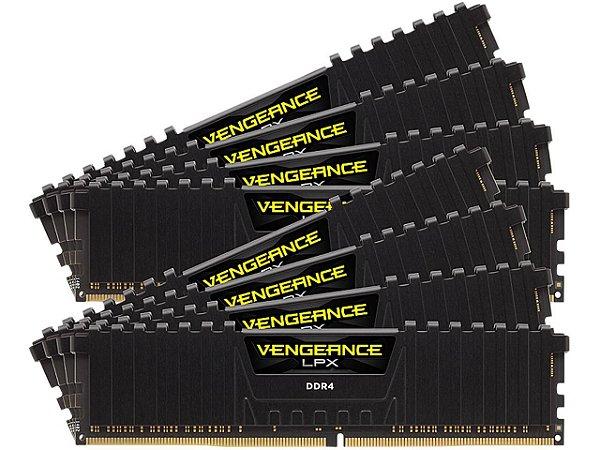 Memória RAM Corsair Vengeance LPX DDR4 256GB 8x32GB 3000Mhz