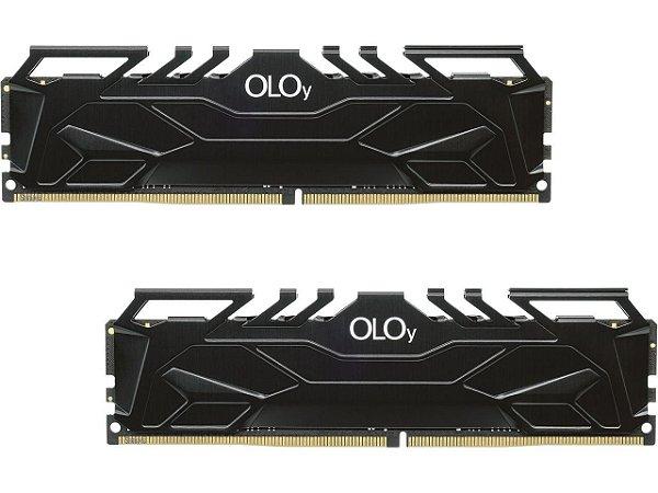 Memória RAM OLoy Owl Black DDR4 64GB 2x32GB 3000Mhz