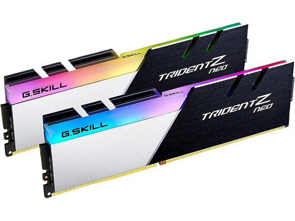 Memória RAM G.Skill Trident Z Neo RGB DDR4 64GB 2x32GB 3200Mhz