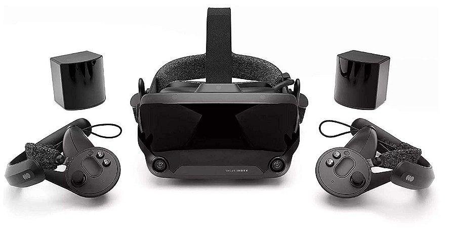 Óculos De Realidade Virtual (VR) Valve Index VR Kit