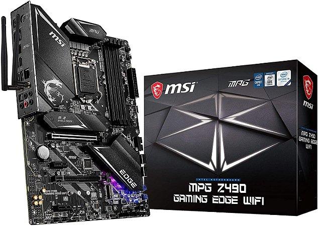 Placa Mãe MSI MPG Z490 Gaming Edge WiFi LGA1200