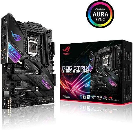 Placa Mãe Asus ROG Strix Z490-E Gaming LGA1200