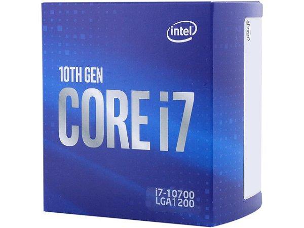Processador Intel Core i7-10700 - 10ª Geração - LGA1200