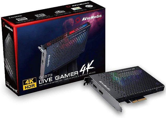 Placa De Captura AverMedia Live Gamer 4K 4KP60 HDR