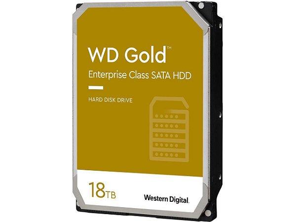 HD Western Digital Gold 18TB Enterprise Class Sata 6.0GBp/s 512MB