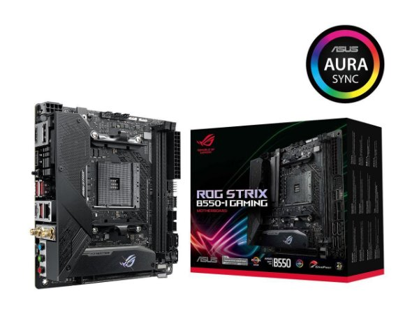 Placa Mãe ASUS ROG Strix B550-I Gaming