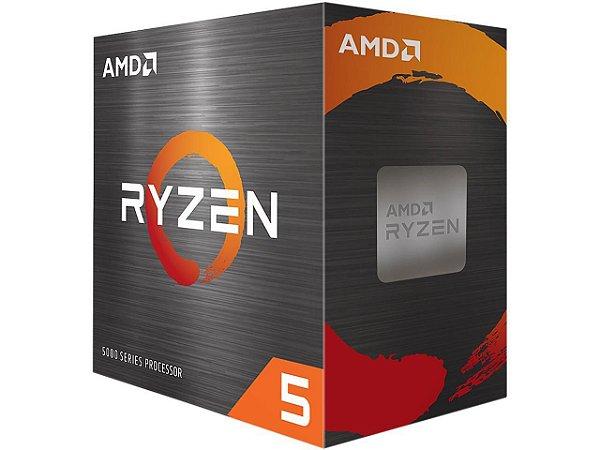 Processador AMD Ryzen 5 5600X - 4rd Gen - 6-Core 3.7 GHz