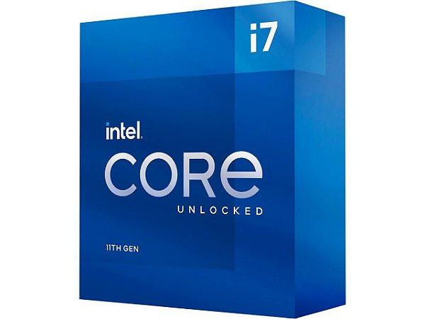 Processador Intel Core i7-11700K - 11ª Geração - LGA1200
