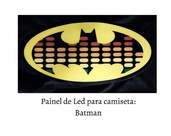 Painel de Led para camisetas: Batman