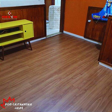Piso Vinílico Castanheira Jaspe 2mm 3,90 m²/cx