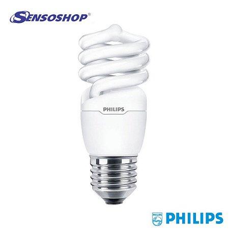 Lâmpada eletrônica fluorescente Eco Twister 110-127V 15W amarela Philips