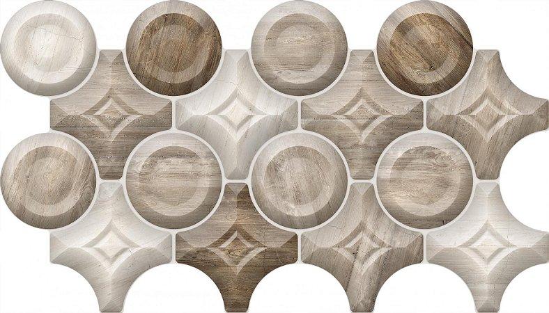 Piso Cerâmica Revest Universo Saturno 31x54