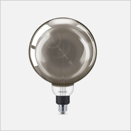 Lâmpada Vintage/ Retrô LED Gigant E27 6.5W G200 Neutra 220V Philips