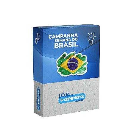 Kit Campanha Semana do Brasil Banners e Postagens