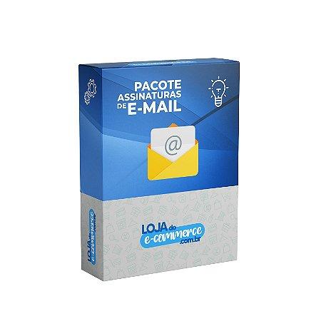 Pacote de Assinaturas Para E-mail Loja Virtual