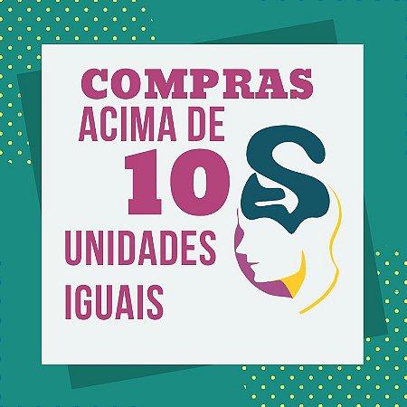 ACIMA DE DEZ UNIDADES IGUAIS