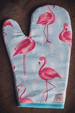 Luva de Forno Flamingos