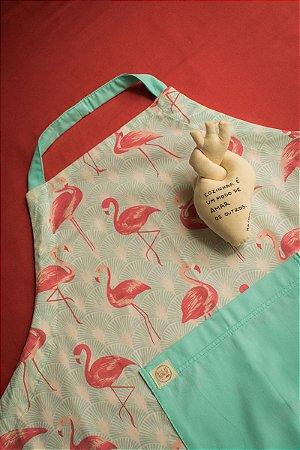 Kit Avental de Corpo + Imã Coração