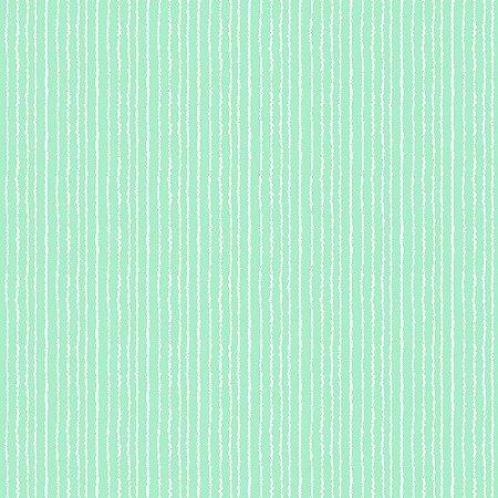 Tricoline Estampado Listras Azul Cotton, 100% Algodão, Unid. 50cm x 1,50mt