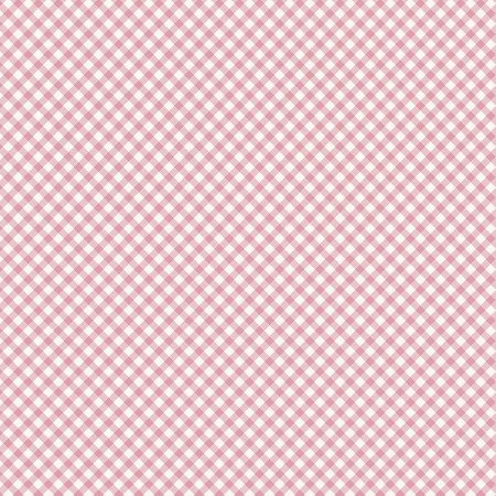 Tricoline Estampado Micro Xadrez Rosa, 100% Algodão, Unid. 50cm x 1,50mt