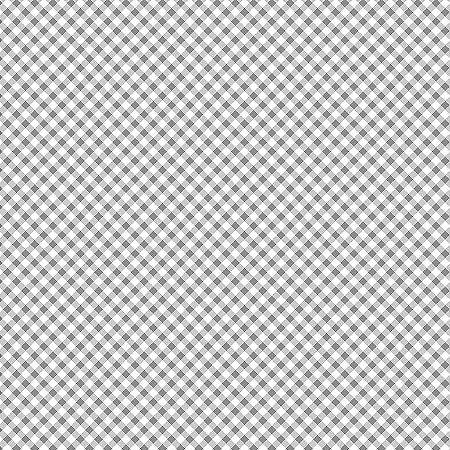 Tricoline Estampado Micro Xadrez Cinza, 100% Algodão, Unid. 50cm x 1,50mt