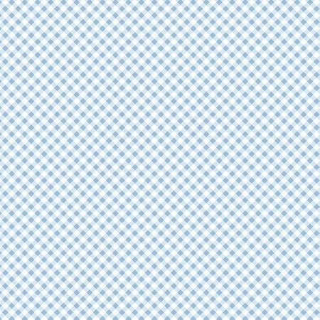 Tricoline Estampado Micro Xadrez Azul Claro, 100% Algodão, Unid. 50cm x 1,50mt