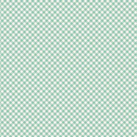 Tricoline Estampado Micro Xadrez Turquesa, 100% Algodão, Unid. 50cm x 1,50mt