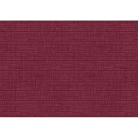 Tecido Tricoline Textura Ibi Vinho, 100% Algodão, Unid. 50cm x 1,50mt