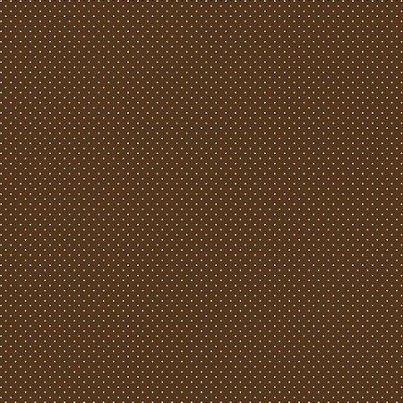 Tecido Tricoline Poá Café, 100% Algodão, 50cm x 1,50mt
