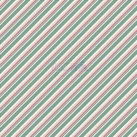 Tricoline Listrado Diagonal Bianca - Cor-05 (Verde Vintage) , 100% Algodão, Unid. 50cm x 1,50mt