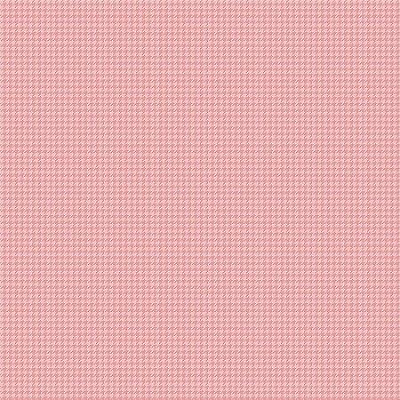 Tricoline Pied de Poule Rosa Bebê, 100%Algodão, 50cm x 1,50m
