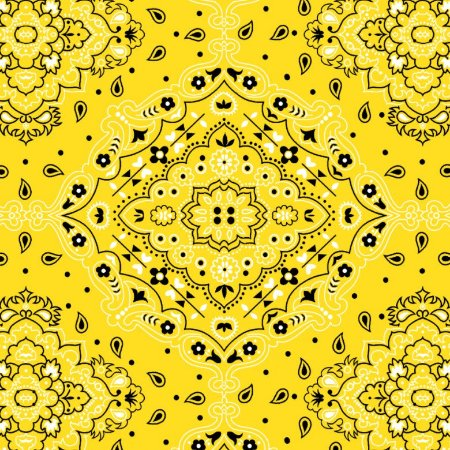 Tecido Tricoline Bandana Amarelo, 100%Alg, 50cm x 1,50mt