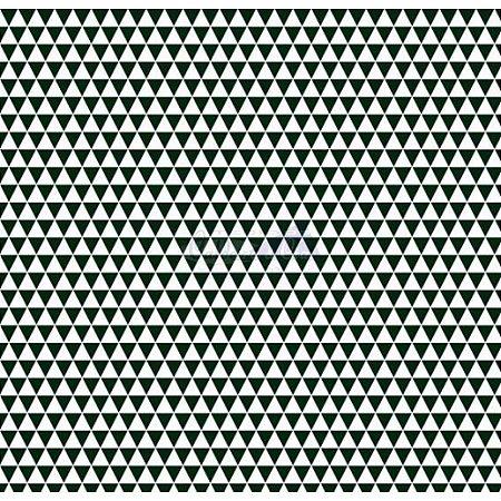 Tricoline Estampado Triângulos Yole - Cor-15 (Branco com Preto), 100% Algodão, Unid. 50cm x 1,50mt