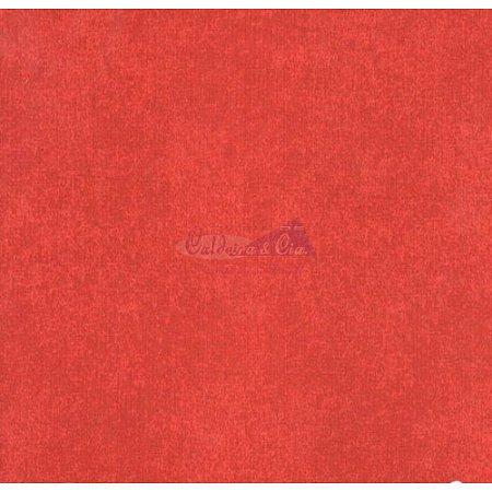 Tricoline Estampado Textura - Cor-14 (Vermelho), 100% Algodão, Unid. 50cm x 1,50mt