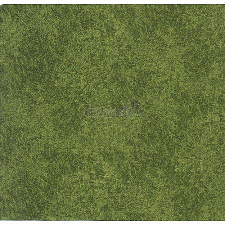 Tricoline Estampado Textura - Cor-06 (Verde), 100% Algodão, Unid. 50cm x 1,50mt