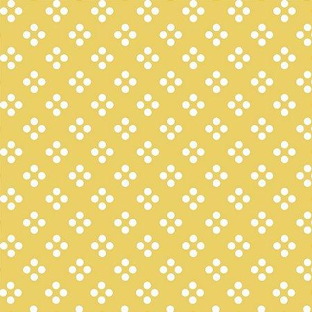 Tecido Tricoline 4 Dots, 100% Algodão, 50cm x 1,50mt