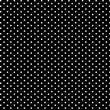 Tecido Tricoline Micro Poá Preto, 100%Algodão, 50cm x 1,50mt