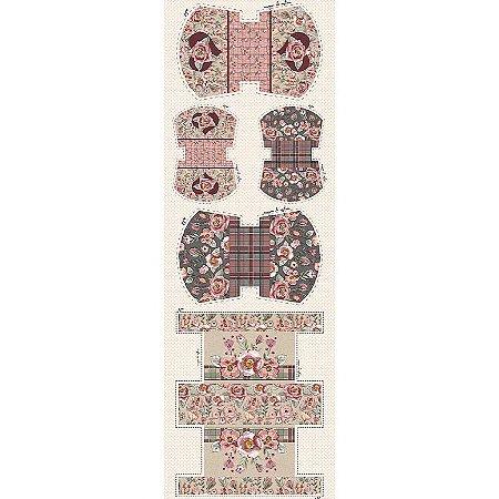 Tricoline Digital Painel Necessarie Sweet, 50cm x 1,50mt