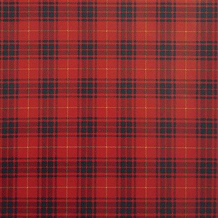 Tricoline Natal Xadrez Deck - 100% Algodão, 50cm x 1,50mt