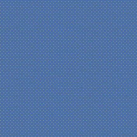 Tecido Tricoline Poá Azul Royal, 100% Algodão, 50cm x 1,50mt