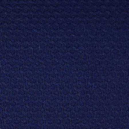 Tecido Piquet Liso Azul Marinho, 100% Algodão, 50cm x 1,43mt