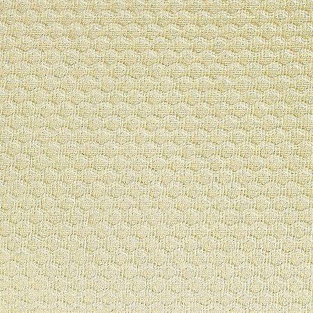 Tecido Piquet Liso Amarelo Suave, 100% Algodão, 50cm x 1,43m